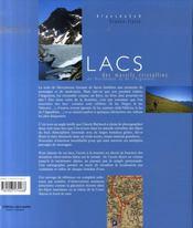 Lacs des massifs cristallins du Mercantour et de l'Argentera - 4ème de couverture - Format classique
