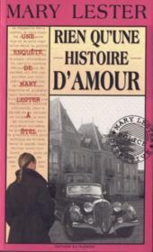 MARY LESTER ; rien qu'une histoire d'amour - Couverture - Format classique