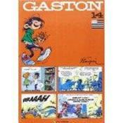 Gaston t.14 en breton - Couverture - Format classique