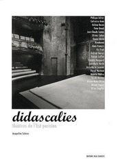 Didascalies, théâtres de l'est parisien - Couverture - Format classique