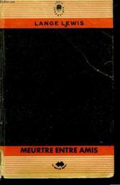 Meurtre Entre Amis - Couverture - Format classique