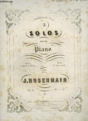 2 Solos Pour Piano - N°1 : Andante Et Rondo. - Couverture - Format classique
