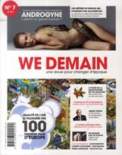 Vente livre :  WE DEMAIN N.7  - We Demain