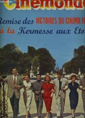 CINEMONDE - 21e ANNEE - N° 984 - LEX BARKER, GISELLE PASCAL, SERGE REGGIANI, MARTINE CAROL, JEAN MARAIS, VIVIANE ROMANCE ET GEORGES GUETARY vous accueillent - Remise des Victoires du cinéma français à la kermesse aux Etoiles. - Couverture - Format classique