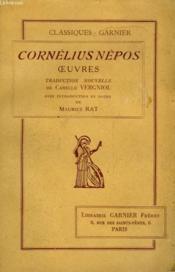 Cornelius Nepos Oeuvres - Couverture - Format classique