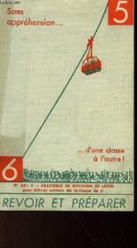 Sans Apprehension - N°261 - Couverture - Format classique