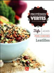 Protéines vertes - Couverture - Format classique