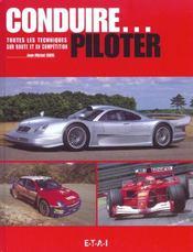 Conduire... Piloter, Sur Route Et En Competition - Intérieur - Format classique