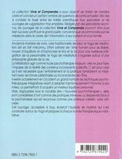 La Meditation Therapeutique - 4ème de couverture - Format classique