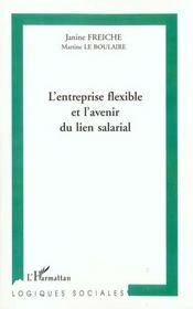 L'Entreprise Flexible Et L'Avenir Du Lien Salarial - Intérieur - Format classique