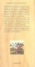 Le Melon Et La Pasteque - 4ème de couverture - Format classique