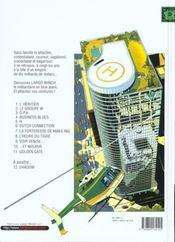 Largo Winch T.1 ; L'Héritier - 4ème de couverture - Format classique