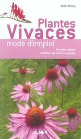 Plantes Vivaces Mode D'Emploi - Intérieur - Format classique
