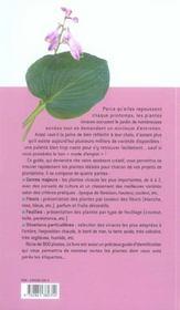 Plantes Vivaces Mode D'Emploi - 4ème de couverture - Format classique