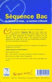 Mathematiques terminale s enseignement obligatoire - 4ème de couverture - Format classique