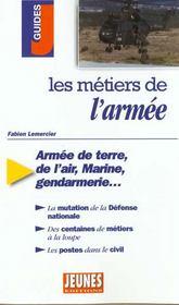 Les metiers t.297 ; armee - Intérieur - Format classique
