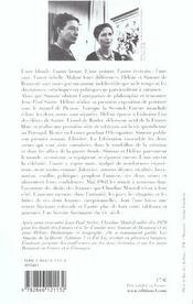 Les Soeurs Beauvoir - 4ème de couverture - Format classique