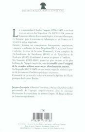 Souvenirs Et Biographie Du Commandant Parquin - 4ème de couverture - Format classique