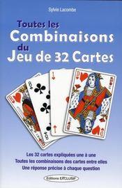 Toutes Les Combinaisons Du Jeu De 32 Cartes - Intérieur - Format classique