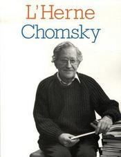Les Cahiers De L'Herne T.88 ; Chomsky - Intérieur - Format classique