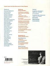 Les Cahiers De L'Herne T.88 ; Chomsky - 4ème de couverture - Format classique