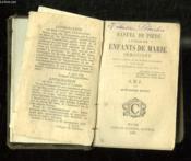 MANUEL DE PIETE A L USAGE DES ENFANTS DE MARIE IMMACULEE. 14em EDITION. - Couverture - Format classique