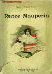 Renee Mauperin. Collection Modern Bibliotheque. - Couverture - Format classique