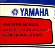 Yamaha 3.5 - Manuel D'Utilisation - Couverture - Format classique