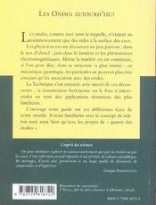 Les Ondes Aujourd'Hui No24 - 4ème de couverture - Format classique
