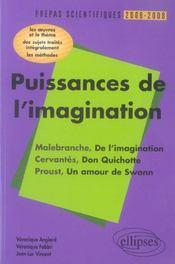 Puissances De L'Imagination Malebranche De L'Imagination Cervantes Don Quichotte Proust Amour Swann - Intérieur - Format classique