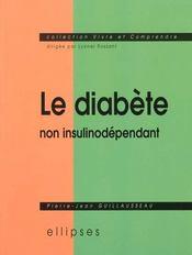 Le Diabete Non Insulinodependant - Intérieur - Format classique
