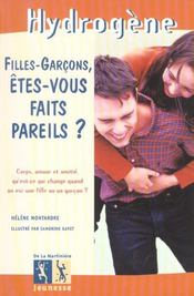 Filles Garcons, Etes Vous Faits Pareils ? - Intérieur - Format classique