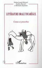 Litterature Orale Touaregue - Intérieur - Format classique