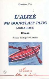 L'Alize Ne Soufflait Plus ; Antan Robe - Intérieur - Format classique