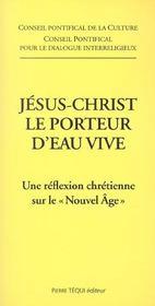 Jesus-christ le porteur d'eau vive - Intérieur - Format classique