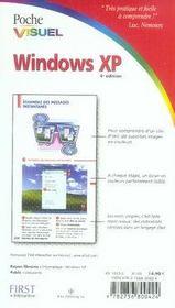 Windows xp (4e édition) - 4ème de couverture - Format classique