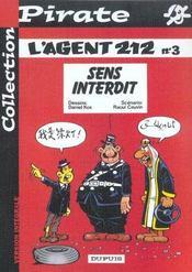 L'Agent 212 Pirate T.3; Sens Interdit - Intérieur - Format classique