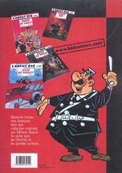 L'Agent 212 Pirate T.3; Sens Interdit - 4ème de couverture - Format classique