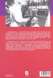 Les Pretres Subversifs - 4ème de couverture - Format classique