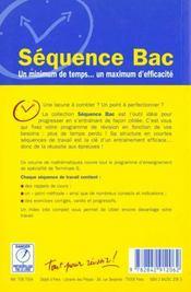 Mathematiques terminale s ; enseignement de specialite - 4ème de couverture - Format classique
