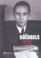 Joseph Goebbels ; journal, 1943-1945 - Intérieur - Format classique