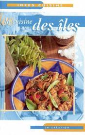 La cuisine des iles - Couverture - Format classique