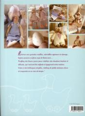 En attendant Pâques ; doudous et petits personnages Tilda à coudre - 4ème de couverture - Format classique