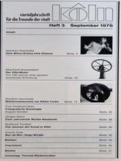 Koln N°3 du 01/09/1976 - Intérieur - Format classique