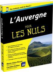 L'Auvergne pour les nuls - Couverture - Format classique