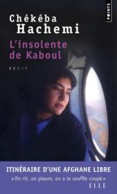L'insolente de Kaboul - Couverture - Format classique