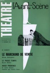 L'Avant-Scene - Theatre N° 253 - Le Marchand De Venise De William Shakespeare - Couverture - Format classique