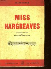 Miss Hargreaves - Couverture - Format classique