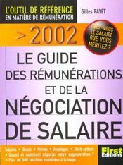 Guide First Des Remunerations ; Edition 2002  - Gilles Payet