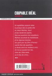 Coupable ideal resume